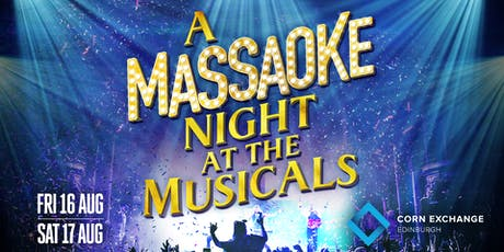 A Massaoke Night at the Musicals tickets