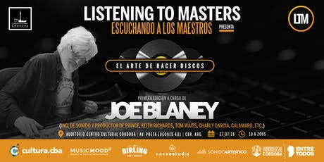 Joe Blaney en Listening to Masters  entradas
