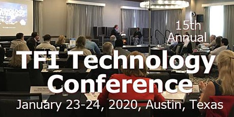 TFI Technology Conference Jan 23-24, 2020 tickets