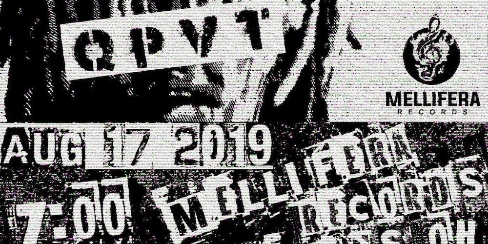 Nascar Aloe & QPVT-LIVE at The Mellifera Warehouse