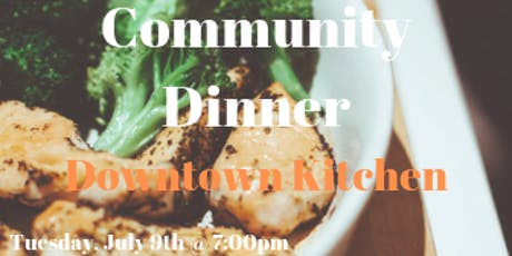 Free Community Dinner tickets