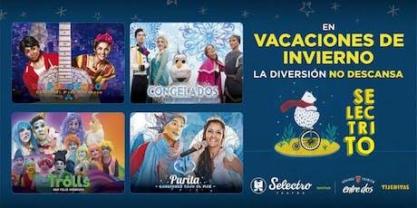 SELECTRITO - CONGELADOS, una aventura musical  entradas