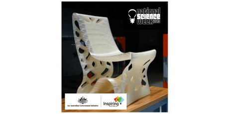 National Science Week - Innovative 3D Printing: Expanding the boundaries of what's possible tickets