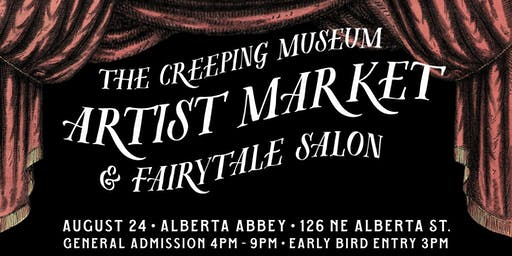 The Creeping Museum Artist Market