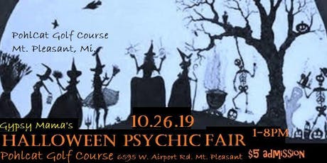 GMPF's Halloween Psychic Fair-Mt. Pleasant tickets