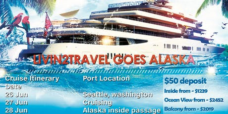 LIVIN2TRAVEL goes Alaska tickets