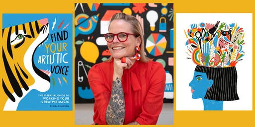 Find Your Artistic Voice, an Evening with Lisa Congdon