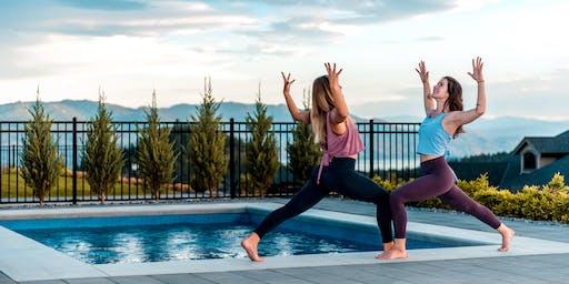 Sundown Poolside Yoga + Meditation