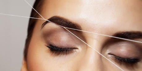 Henna Eyebrow Tinting and Intro to Threading Course - SALE ENDS 7/16/19 tickets