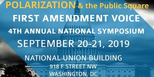 4th Annual First Amendment Voice National Symposium