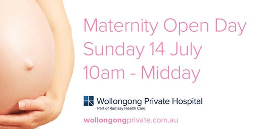 2019 Wollongong Private Hospital Maternity Open Day