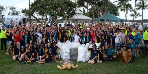 Plastic Free July Beach Clean Up