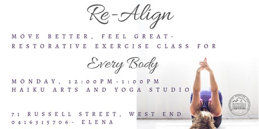 Re-Align with Restorative Exercise