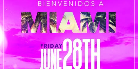 "Latin Belle: ""Bienvenidos a Miami"" Party @ Belle Station 