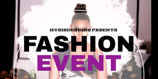 HysisDesigns LLC Fashion Show Fundraiser