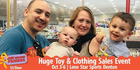 General Admission FREE Ticket | Childrens Toy & Clothing Shopping Event tickets
