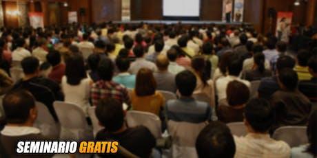 Seminario GRATIS: Cómo Invertir en Bienes Raíces con Poco Dinero  tickets