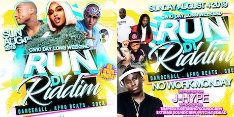 Run Di Riddim tickets