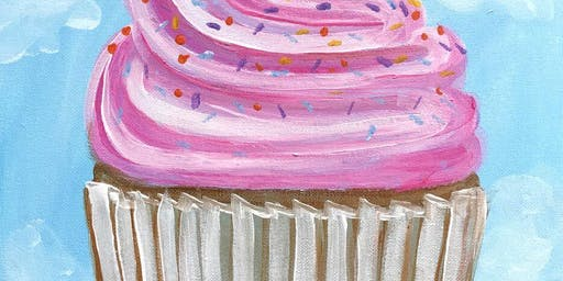 Cupcake - Family Brush Party - High Wycombe