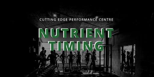 Nutrient Timing Workshop
