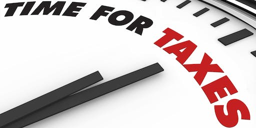 Tax Help: Rouse Hill - 25th October 2.00-2.30pm - FULLY BOOKED