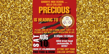 Precious' Going Away Party tickets