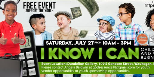 'I Know I Can' Children and Youth Business Expo