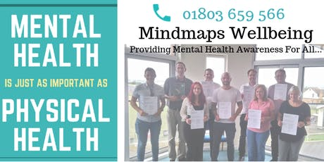 MHFA Adult Two Day Mental Health First Aid Course - Exeter tickets