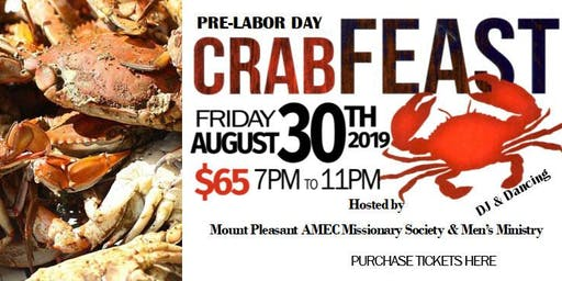 Mount Pleasant AMEC CRAB FEAST