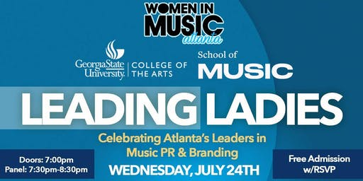 Women in Music Atlanta presents Leading Ladies in PR & Branding