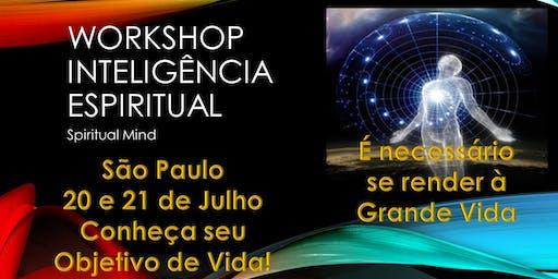 ESGOTADO - Spiritual Mind - Workshop Inteligência Espiritual! - ESGOTADO