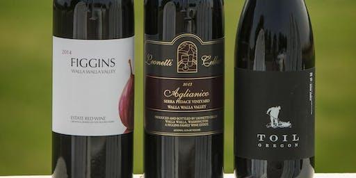 Leonetti and Figgins Wine Tasting