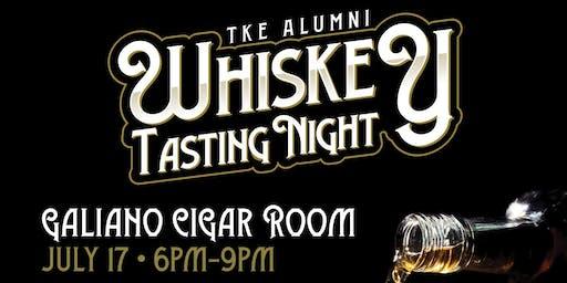 TKE Alumni Whiskey Tasting Night