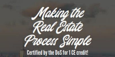 Making the Real Estate Process Simple