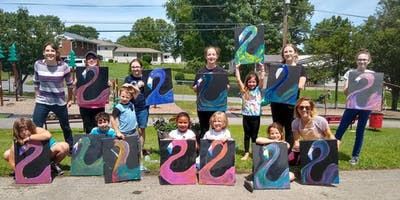 Wild & Wonderful Paint Parties July Summer Art Camp