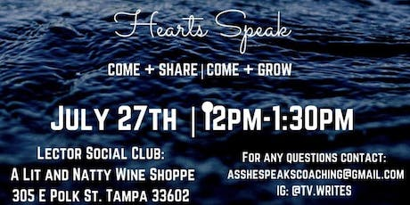 As She Speaks Coaching Presents: Hearts Speak tickets