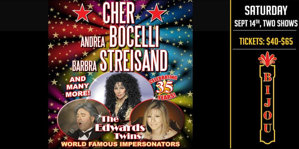 CHER, BILLY JOEL, STREISAND & MORE! Vegas Impersonators The