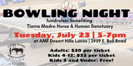 Bowling Night Fundraiser tickets