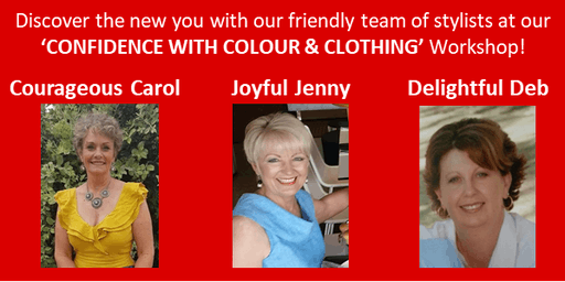 Copy of Confidence, Colour & Clothing Workshop for Women