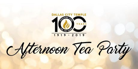 DCT 100th Anniversary Tea Party tickets