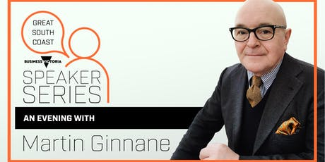 Great South Coast Speaker Series - An Evening with Martin Ginnane tickets