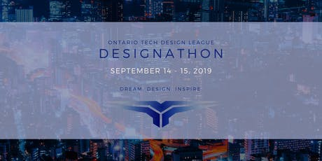 ONTARIO TECH DESIGNATHON 2019 tickets