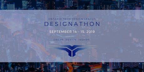 ONTARIO TECH DESIGNATHON 2019 tickets