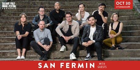 San Fermin with St.Arnaud tickets