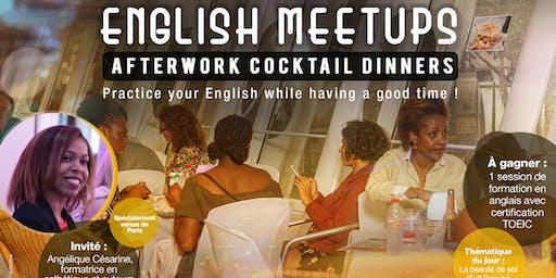 English Meetups Afterwork Cocktail Dinners