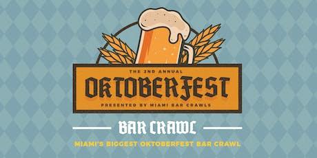 2nd Annual Oktoberfest Bar Crawl in Brickell tickets