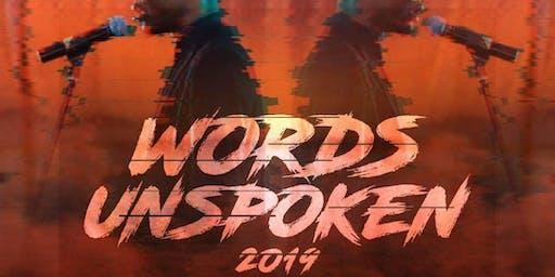 Words Unspoken 2019
