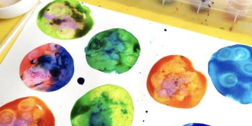 Kids watercolors