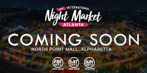 Atlanta International Night Market - Alpharetta