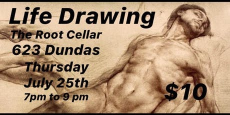 Life Drawing in Old East Village tickets